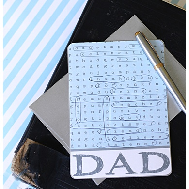 FREE Printable:Father's Day Card Game #fathersday #free