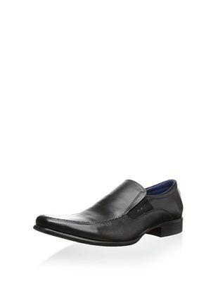 56% OFF Steve Madden Men's Gulliver Slip-On (Black Leather)