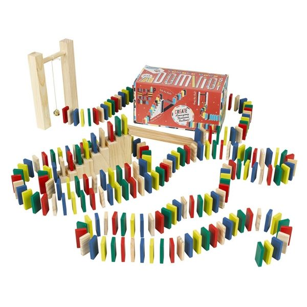 Games for kids from Ridleys are as delightful as they're durable. This 200-piece domino set is no different and packs in plenty of enjoyment for everyone!