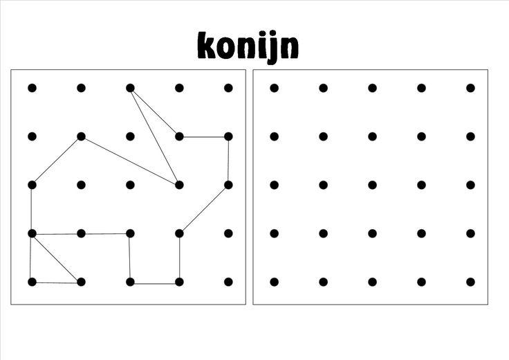 ruimtelijke orientatie, werkblad 2 - 3