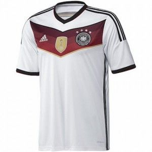 The Germany kit now features 4 stars to celebrate the team's impressive win at the 2014 FIFA World Cu. How are they doing at Euro 2016 qualifying? http://www.soccerbox.com/blog/germany-kit/ Head over to Soccer Box where you can also enter our competition to win a Brazil away shirt with Neymar Jr printing. Repin for others to have the option to enter!