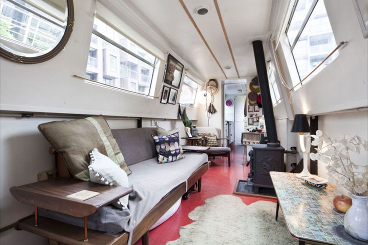 56' Contemporary open plan live aboard a narrow boat