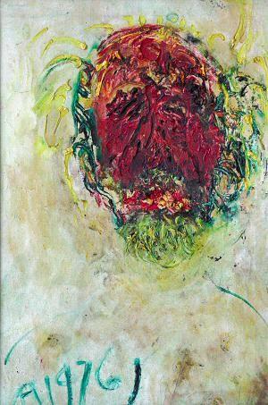 Affandi's Painting #3. Affandi is an Indonesian Painter