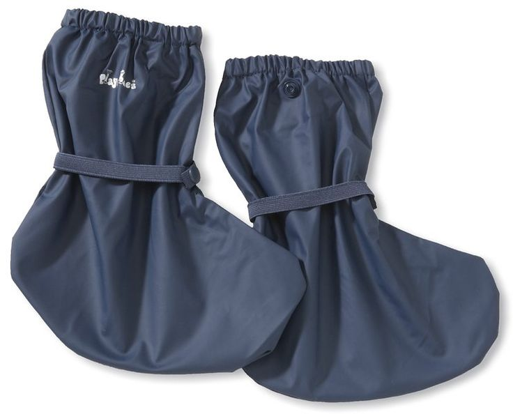 Playshoes Regenfüßling / Regenfüßlinge, verschiedene Farben, Oeko-Tex Standard 100 408910, Unisex-Baby Krabbelschuhe, Blau (marine 11), EU (20) M