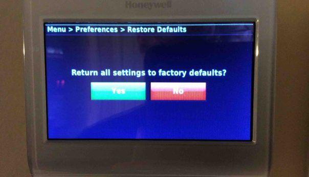 Honeywell Thermostat Restart Instructions Tom S Tek Stop Wall