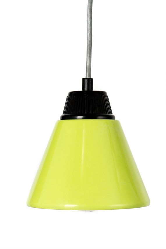 Small  Ceiling Lamp cone pendant  melamine by NogaLighting on Etsy
