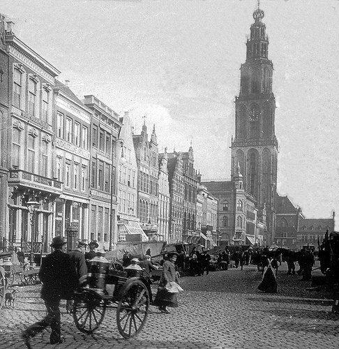 Groningen Grote Markt ca. 1907 | by hjrnoorden