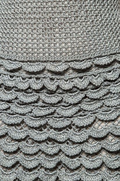 Vestido Crochet Princess Branco - Vanessa Montoro - vanessamontoro