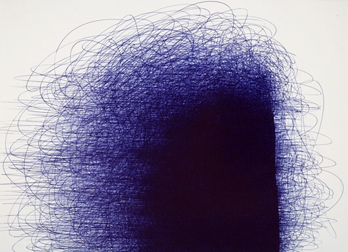 Ballpoint Pen Abstract Art