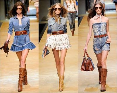 moda country Romantic Country Style