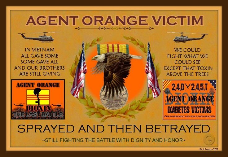 Agent Orange Victims, sprayed and betrayed.....Rich 'Boon' Preston