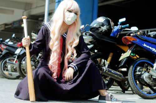 Sukeban girl gang Japan sub-culture delinquent lady