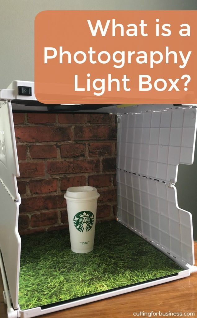 What is a Photography Light Box (and Shotbox Review) - Great for Silhouette Cameo and Cricut Explore Small Business Owners who take Product Photos - by cuttingforbusiness.com