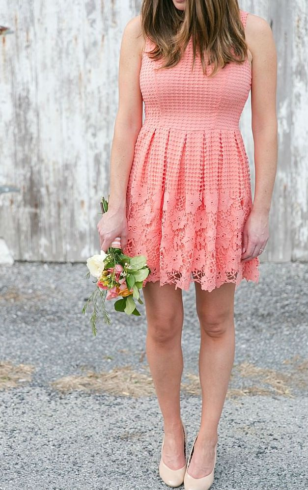 Junior Bridesmaid Dresses In Coral