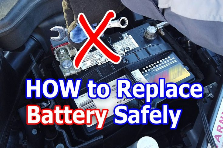 How to change your Car battery SAFELY (Which wire to ...
