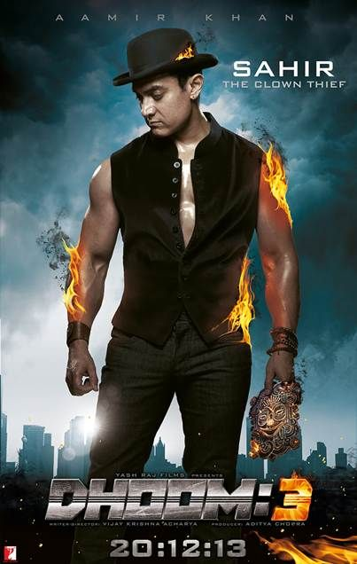 Brand new poster of #Dhoom3... http://movies.buzzintown.com/dhoom-3/segment--synopsis/id--648864.html #Aamirkhan