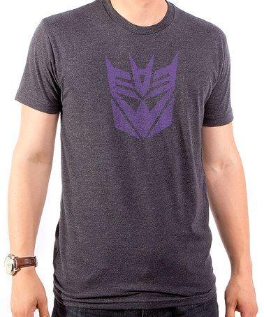 Loving this Transformers Decepticon Tee - Men's Regular on #zulily! #zulilyfinds