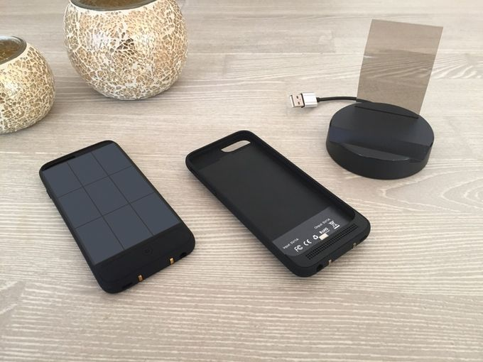JUS for iPhone 6, 6 Plus, 6S and the 6S Plus so you never run out of charge again! To know details about JUS, please visit https://www.kickstarter.com/projects/1404887175/jus-never-run-out-of-power-ever-again?ref=project_tweet