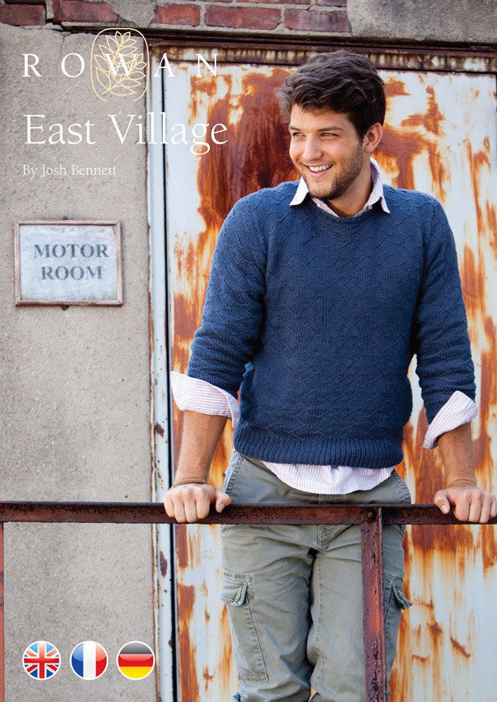 East Village Jumper in Rowan Creative Linen. Discover more Patterns by Rowan at LoveKnitting. The world's largest range of knitting…
