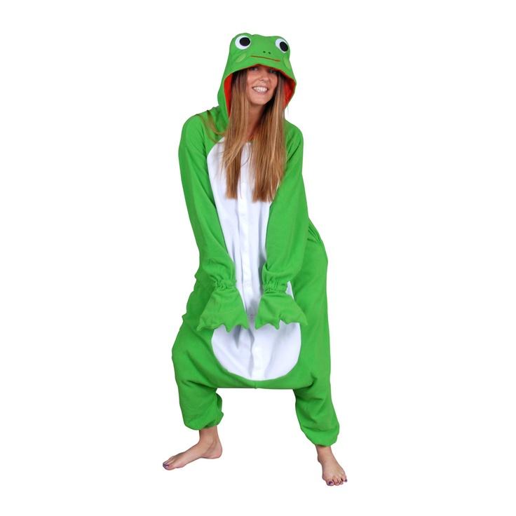 Frog by Kigurumi Animal Onesies on POP.COM.AU #pop #frog #onesie