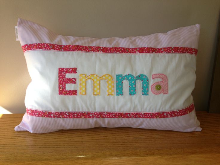Personalized Name Scatter - for baby Emma - ideal to brighten any child's room! Great gift idea. Order from Tula-tu Baby Linen - www.tulatu.co.za