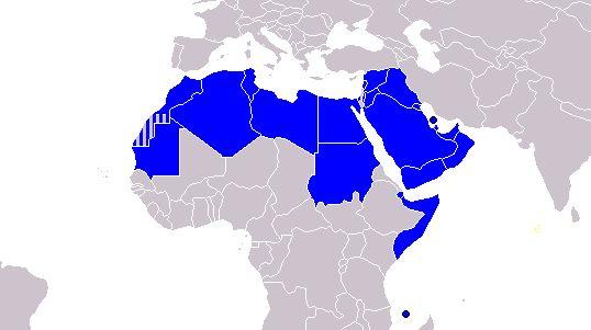 Лига арабских государств  Из мяса в арабской кухне используется, в основном, баранина и козлятина (кроме того - куриное мясо, телятина а также голуби). Здесь также любят готовить множество видов сыров и кисломолочных продуктов. Блюда арабской кухни отличаются обилием сладостей, которые делают из меда, фиников, орехов и фруктов. Из напитков арабская кухня, в основном, предлагает чай и кофе.