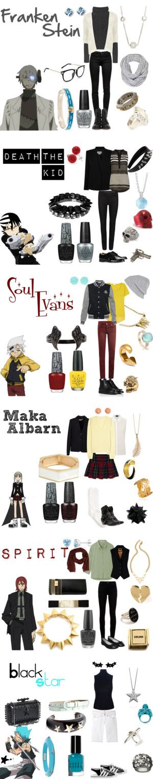 """Soul Eater"" by casualanime on Polyvore @Abbey Adique-Alarcon Adique-Alarcon Sutcliff @Daryen Thompson Thompson Thompson Morgado I FREAKIING NEED THIS"