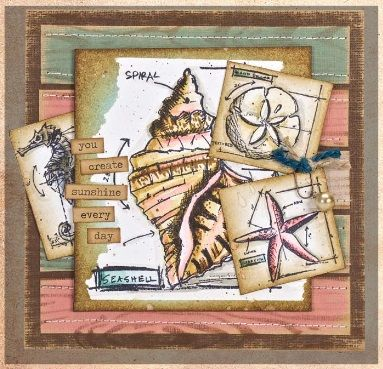 Tim Holtz - Cling Rubber Stamp Set - Mini Blueprints 6
