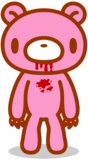 This is Gloomy. He's pink BUT EXTREMELY DANGEROUS.
