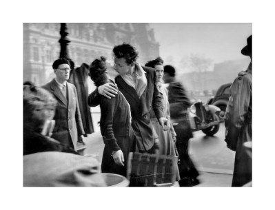 Doisneau, Le baiser de l'Hôtel de ville