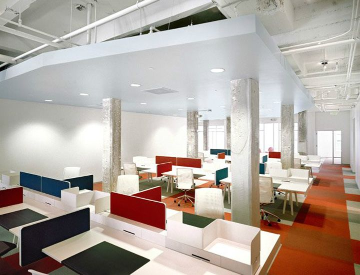 35 best images about open space office on pinterest the for Interior design office space