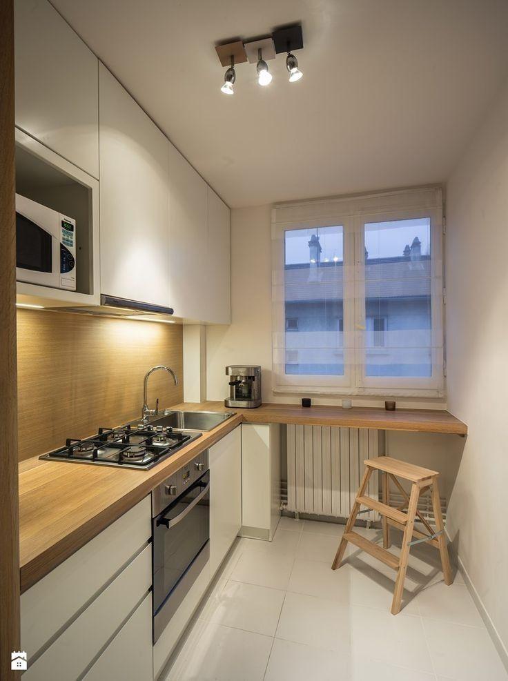 Idées de décoration de cuisine pour appartement   – Schmale küche