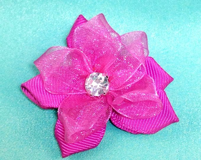 Handmade Hair Clip with Diamante Crystal - Annie Lane Boutique
