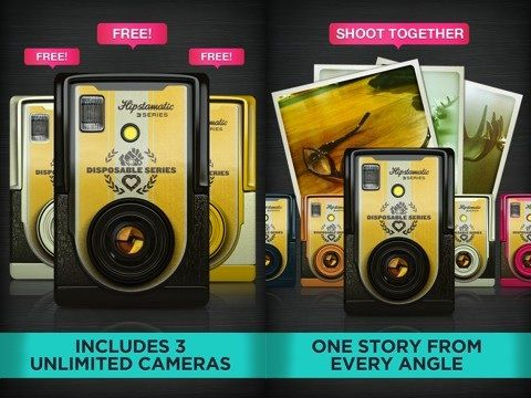 Hipstamatic's D-Series Disposable Camera app for iPhone needs some work, but has potential