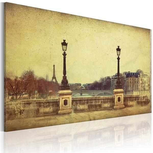 Quadro - Parigi, la città dei sogni. Prezzo a partre da €64,99 cm60x40 e spedizione gratuita. Risparmia 16€ #quadriretro #quadrivintage #ilydecor #quadriparigi