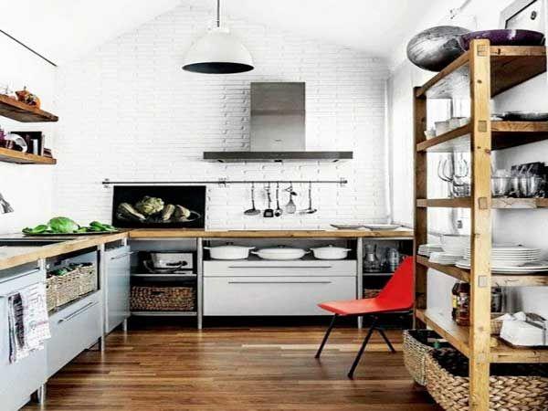 195 best Cuisines    Kitchens images on Pinterest Kitchen islands - hotte integree dans meuble haut