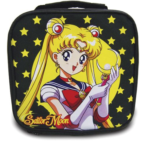 A new Sailor Moon and Moon Stick Lunch Bag! More info and shopping links here http://www.moonkitty.net/reviews-buy-sailor-moon-bags-backpacks.php