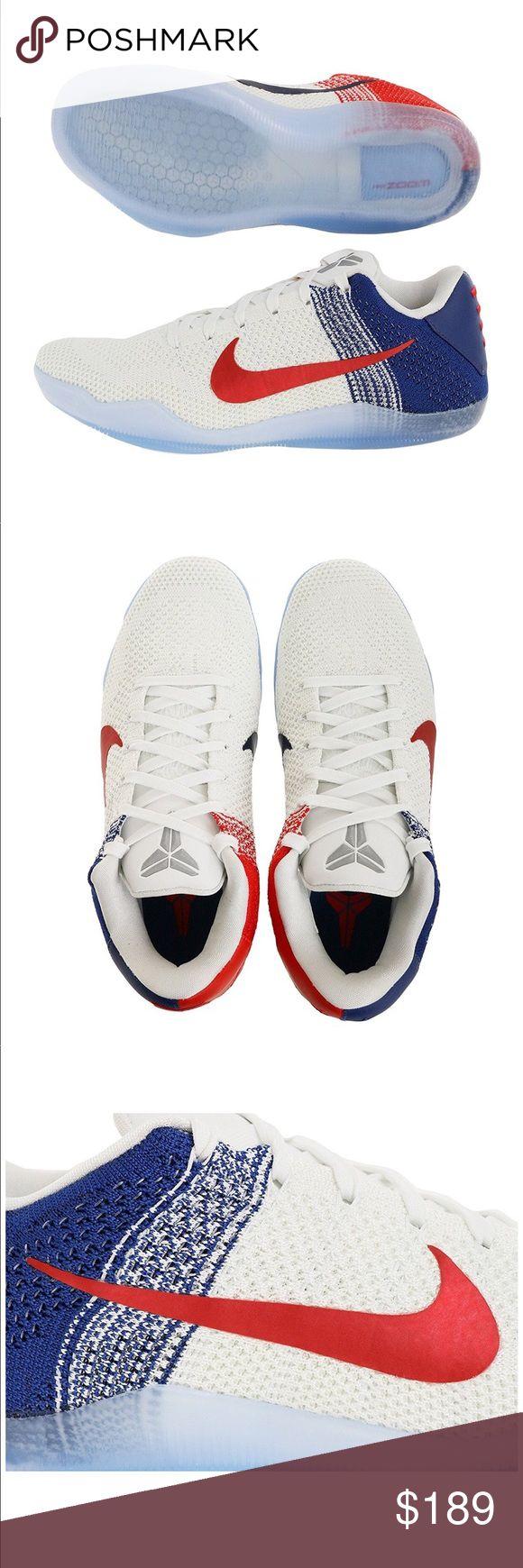 Nike Kobe XI Elite Low Mens Sneakers Shoes Brand new Nike Men's Kobe XI Elite Low, WHITE/UNIVERSITY RED-DEEP ROYAL BLUE fabric Model Number: 822675184 Gender: mens Color: WHITE/UNIVERSITY RED-DEEP ROYAL BLUE Nike Shoes Sneakers