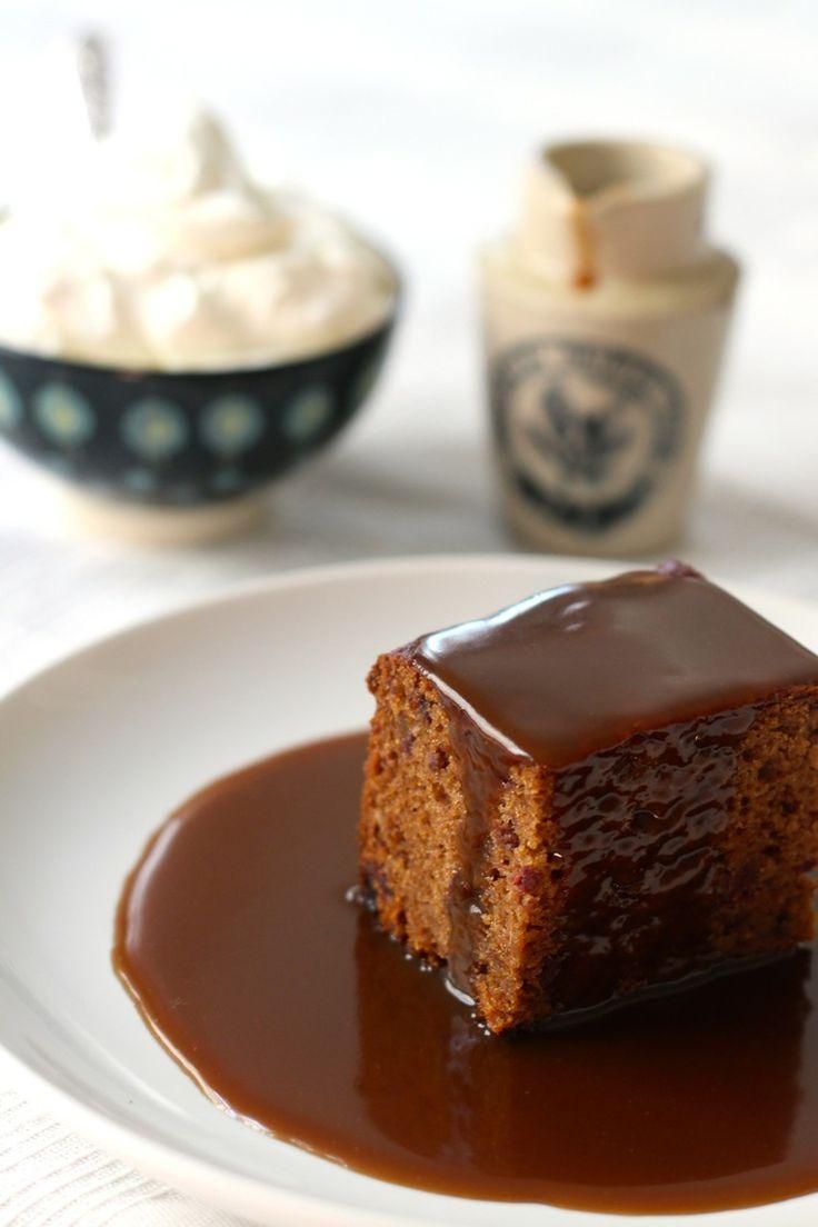 Sticky Toffee Pudding - Borrowed Salt