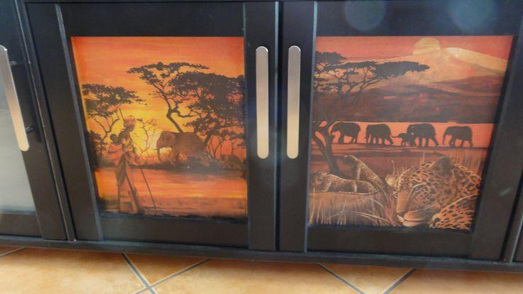 Safari Vitrinen Türen