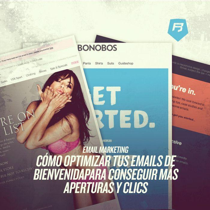 [Hoy en #emailmarketing ] CÓMO OPTIMIZAR TUS EMAILS DE BIENVENIDA PARA CONSEGUIR MÁS APERTURAS Y CLICS Genera más conversiones desde hoy >> http://emailmarketing-rebeldesonline.com/email-de-bienvenida/  #email   #emailmarketingtips