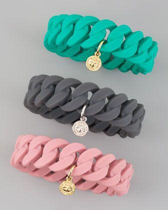 Super cute rubber link bracelets _ Marc By Marc JacobsJewelry Jewelry, Bracelets 28, Rubber Bracelets, Turnlock Bracelets, Jacobs Bracelets, Marc Jacobs, Katy Turnlock, Jacobs Rubber, Rubber Katy