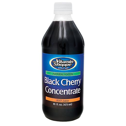 Black Cherry Concentrate - BLACK CHERRY (16 Fluid Ounces Liquid) at the Vitamin Shoppe Mobile