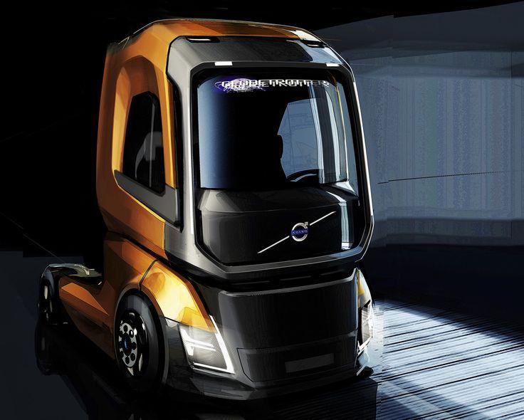 Gashetka   Transportation Design   2016   Volvo Trucks   Design by Slava Kazarinov