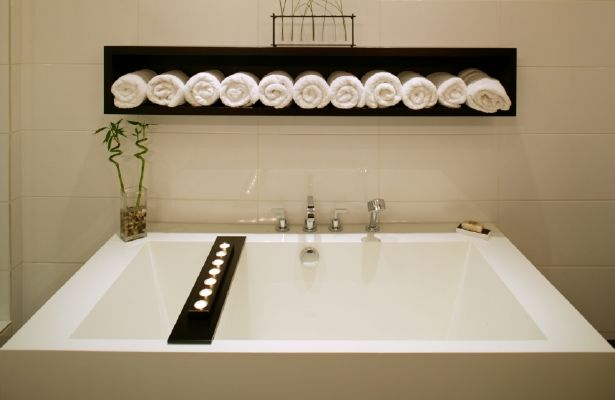 Small Bathroom Decorating Ideas Pinterest: 17 Best Ideas About Small Spa Bathroom On Pinterest