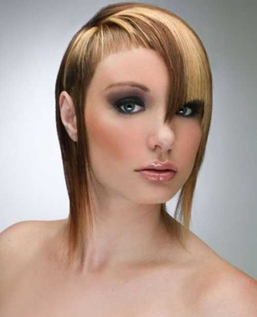 Two Tone Hair Color for Short Hair | http://www.short-haircut.com/two-tone-hair-color-for-short-hair.html