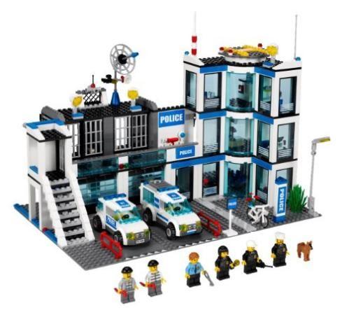 LEGO 7498 City System Police Station