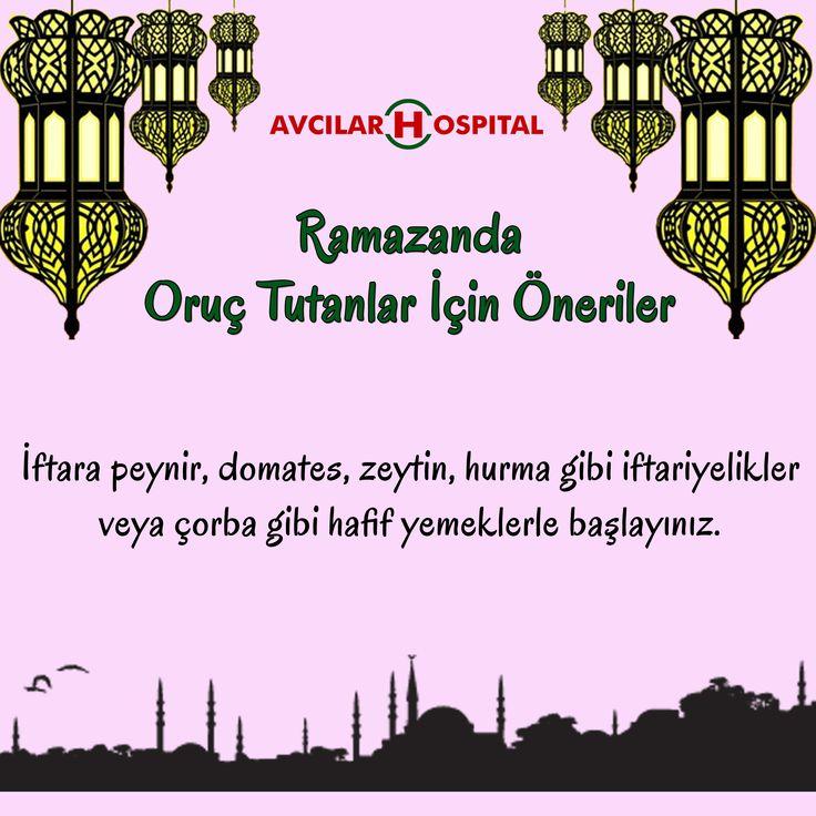 #ramazan #sahur #iftar #oruç #öneri #yemek #zeytin #peynir #hurma #çorba #sağlık #gıda #beslenme