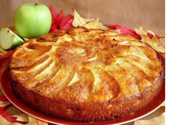 Voňavý křupavý jablkový koláč
