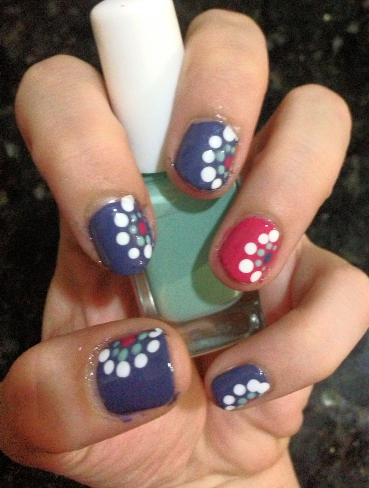 Easy nail art (dotting tool)